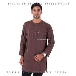 URBAN SIRIN BROWN TUNIC